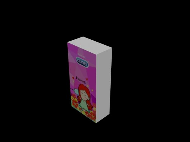 杜蕾斯包装盒