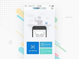 亮一下Treep Ticket首页的插画