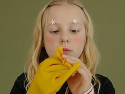 美国美少女童装平面
