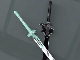 为了记念曾经喜欢的动漫:刀剑神域