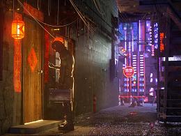 Cyberpunk 春节