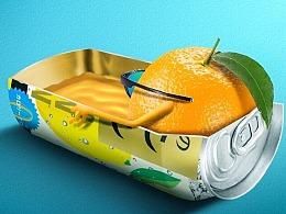 第28期夏日趣味水果饮料创意合成教程-学员作品欣赏