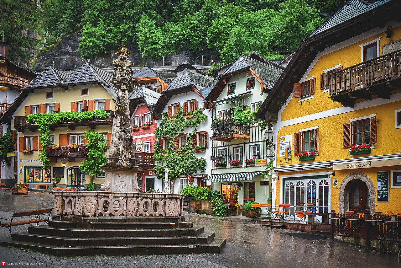 心中最美的欧洲小镇图片