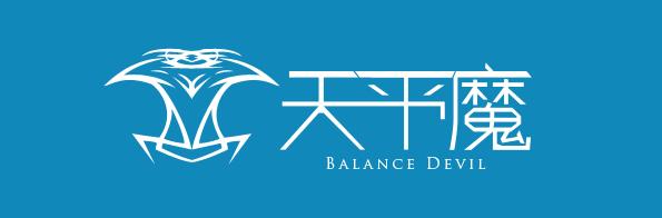 天平魔logo 两种风格的登陆界面图片