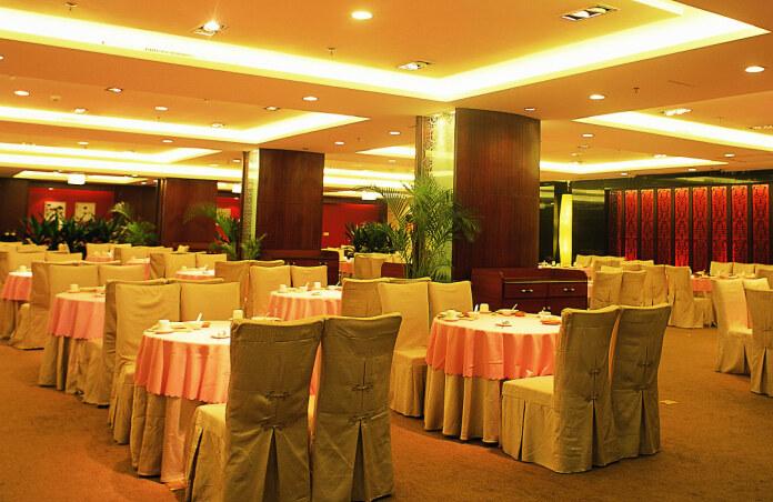 酒楼装修设计|酒泉酒楼设计公司—越秀港式茶餐厅