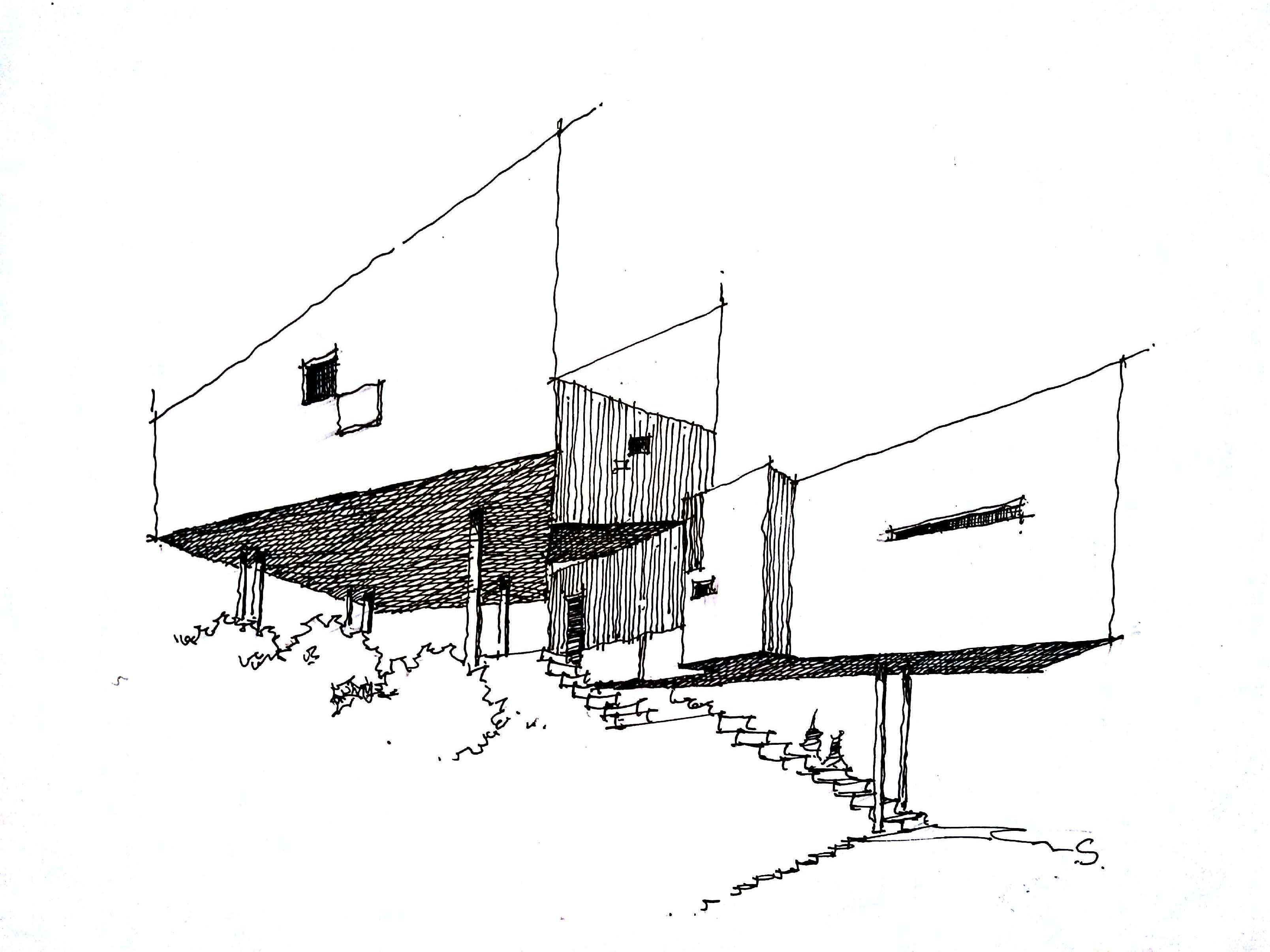 建筑/室内手绘|空间|室内设计|黑车司机在行动 - 原创