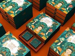 敦煌系列月饼礼盒