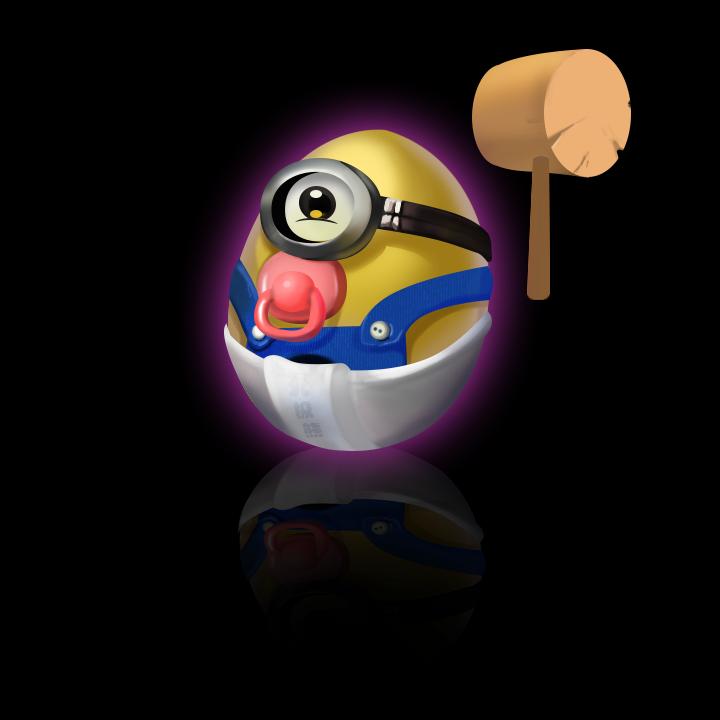 砸小黄人蛋