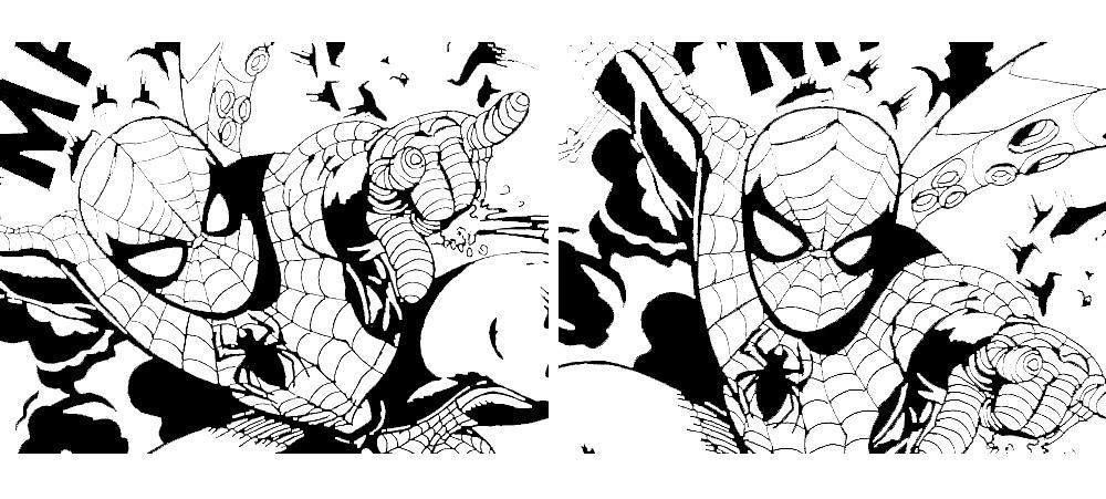 《蜘蛛侠:英雄归来》手绘