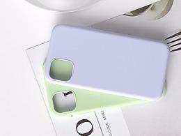 新款iPhone11液态硅胶手机壳跟电镀手机壳详情页