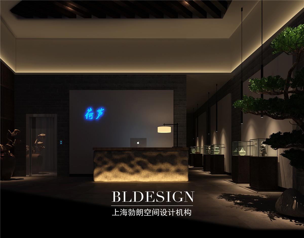 郑州高档茶所设计&中式禅意茶所住宅设计德国图片