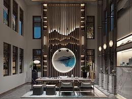 九龙湖·中式 室内设计表现