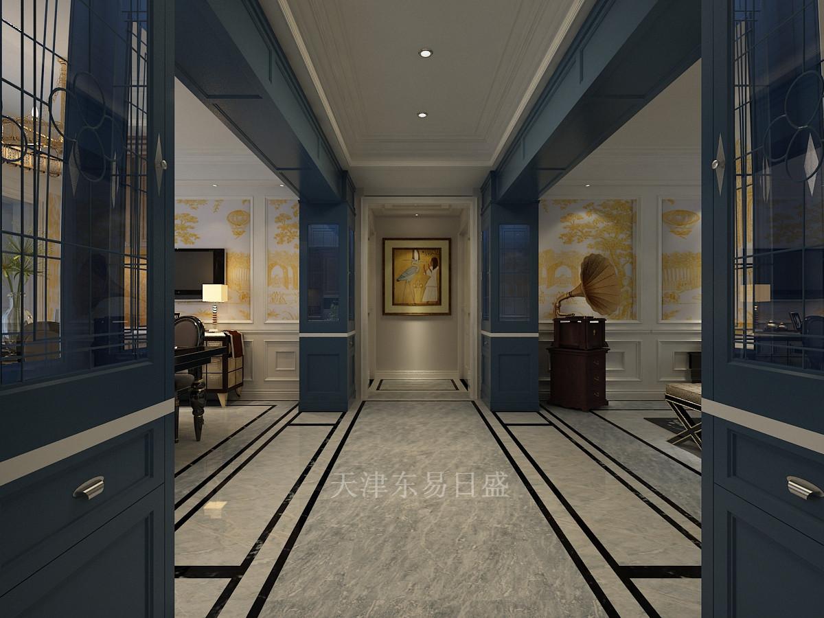天津东易日盛-大都会法式风格160平米装修效果图图片