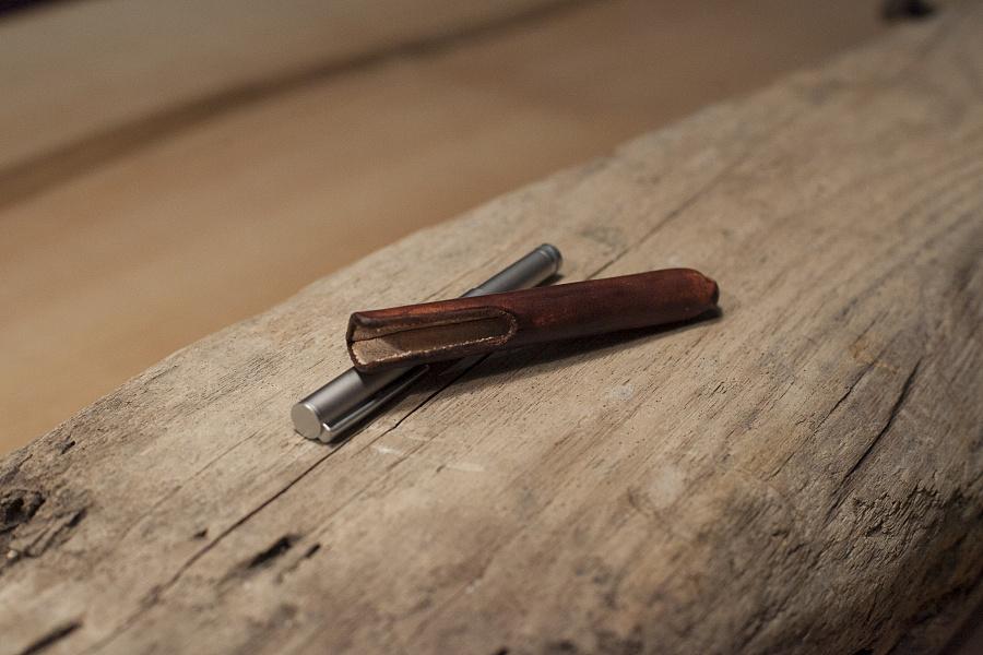 手作皮具 · 一只笔的衣服