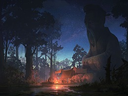 洛克猴(杜震)气氛图《露营》