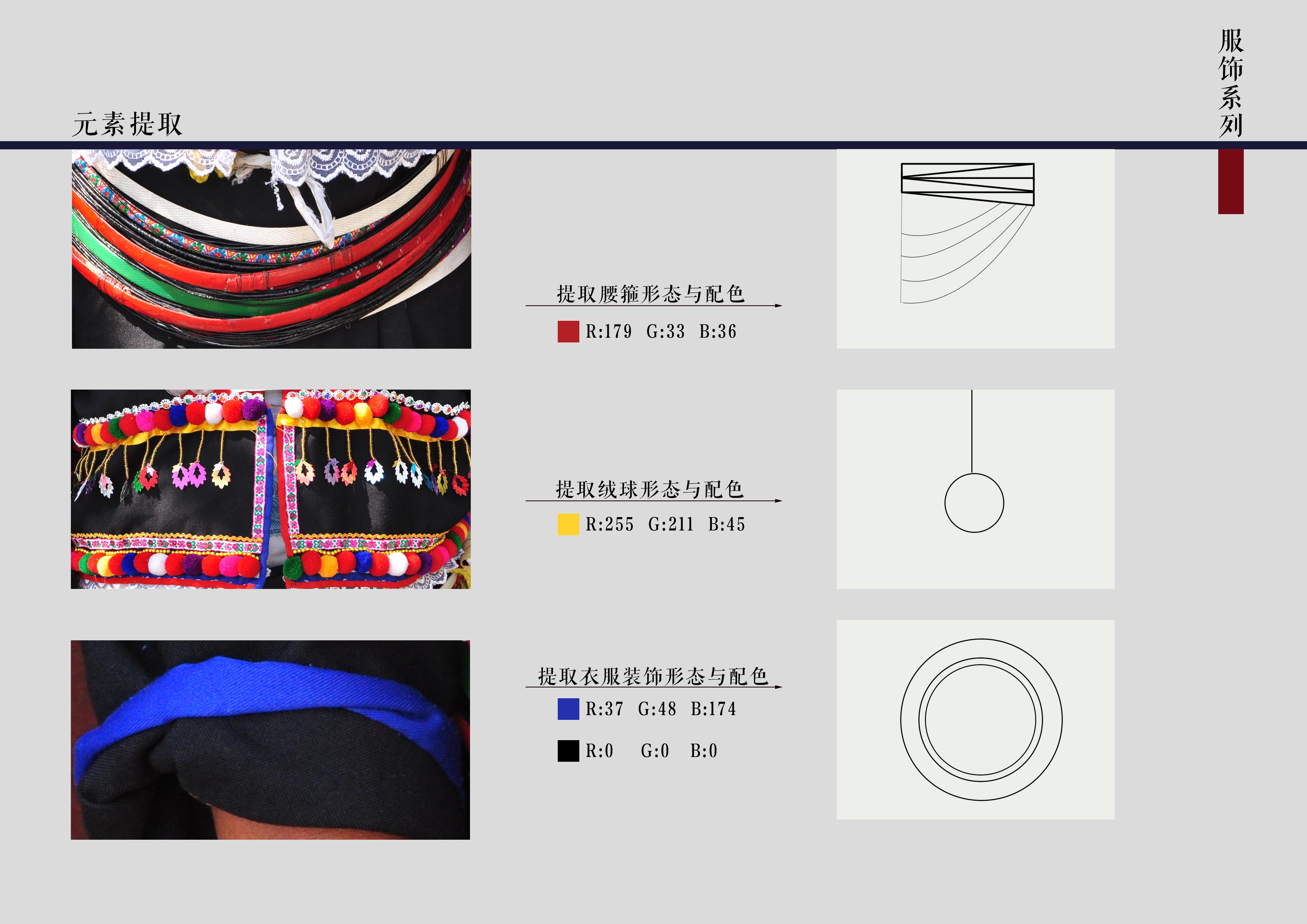 德昂族茶文化衍生产品设计——德昂族服饰系列图片