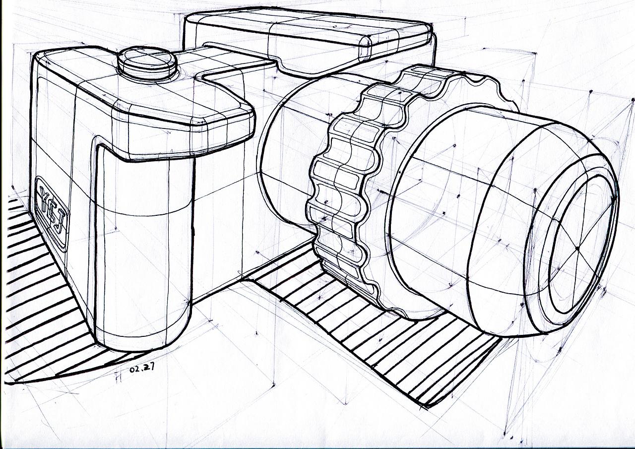 手绘作品|工业/产品|电子产品|杨超杰 - 原创作品