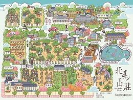 北马山庄手绘地图