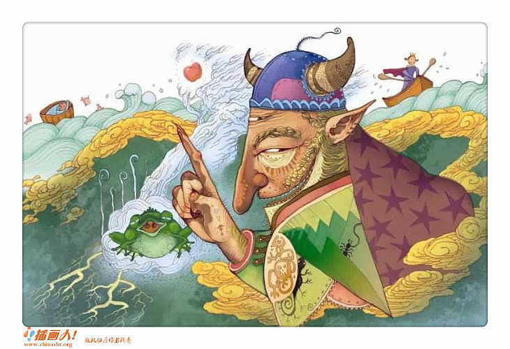 格林童话故事青蛙王子