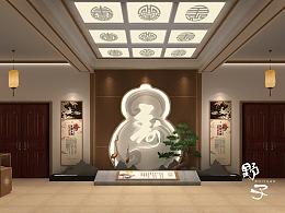 长寿村文化大厅设计