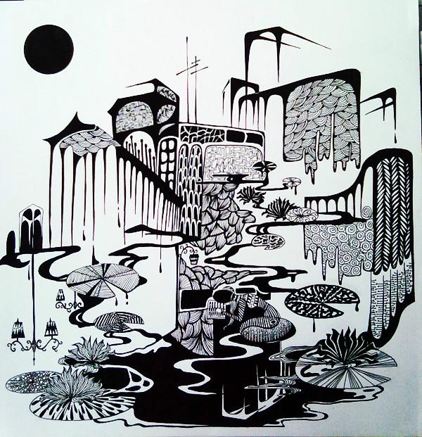 装饰画手绘系列|其他绘画|插画|425287254
