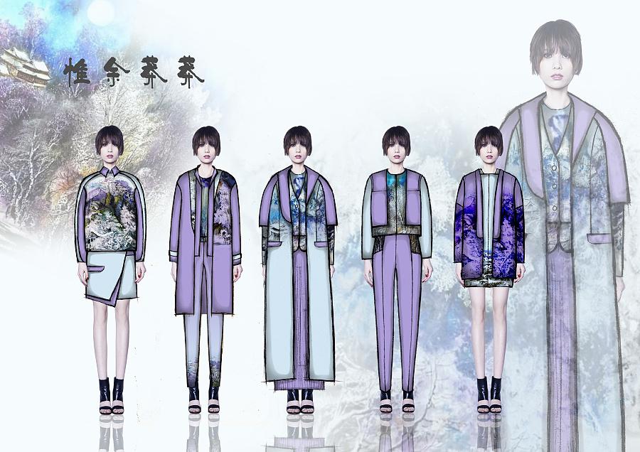 服装效果图|其他服装|服装|义释朗 - 原创设计作品