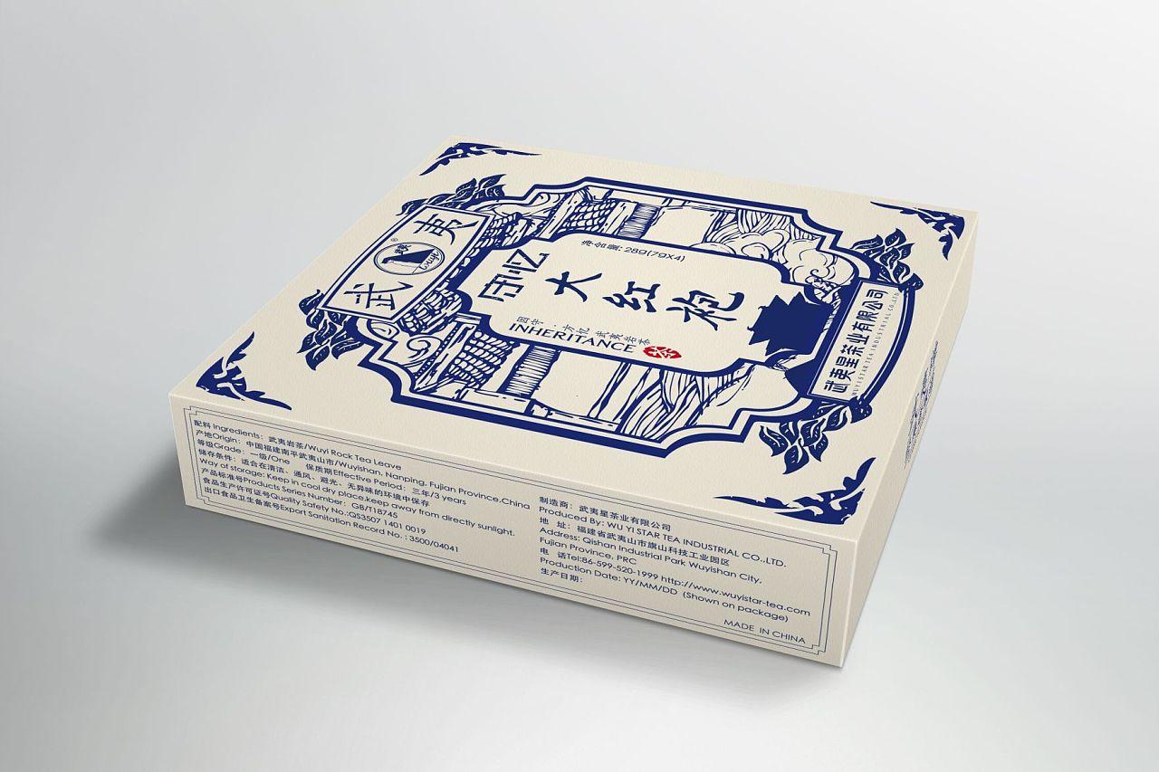 2016-靳埭强设计奖学生组入选奖-《武夷牌守忆》系列茶包装设计图片