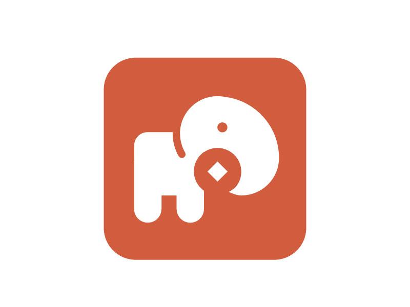 绘制比例法国际练习分割(小象+标志) 图形北京大虾海报设计周图片