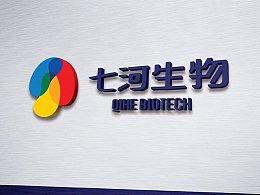 七河生物科技有限公司品牌形象设计/logo\vi