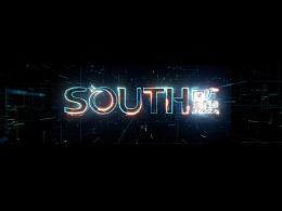 SOUTH南方测绘企业科技厅大屏视频
