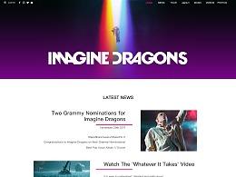 imagine dragons乐队官网主页