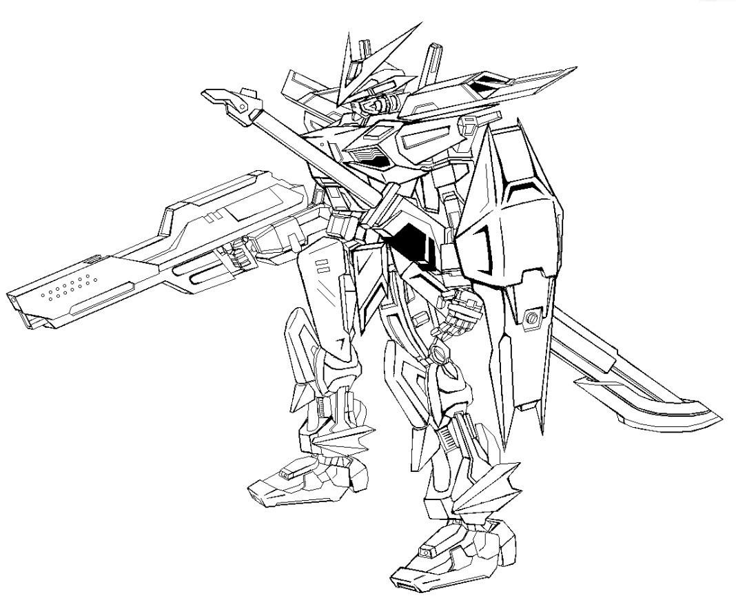 原创机设 灰色异端高达MK VI 装甲兵器设计