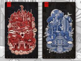 城市插画——广州x厦门