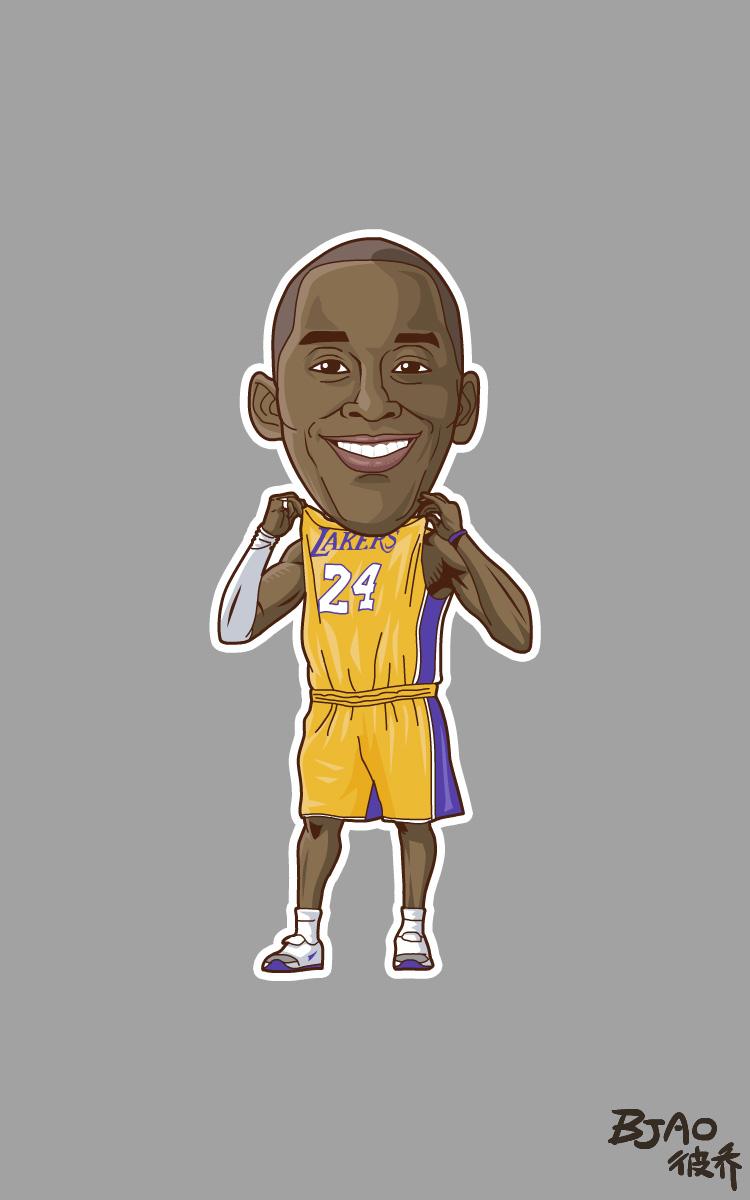 NBAplayzone漫画卡通造型|动漫漫画|球星|bja良肖像a漫画图片