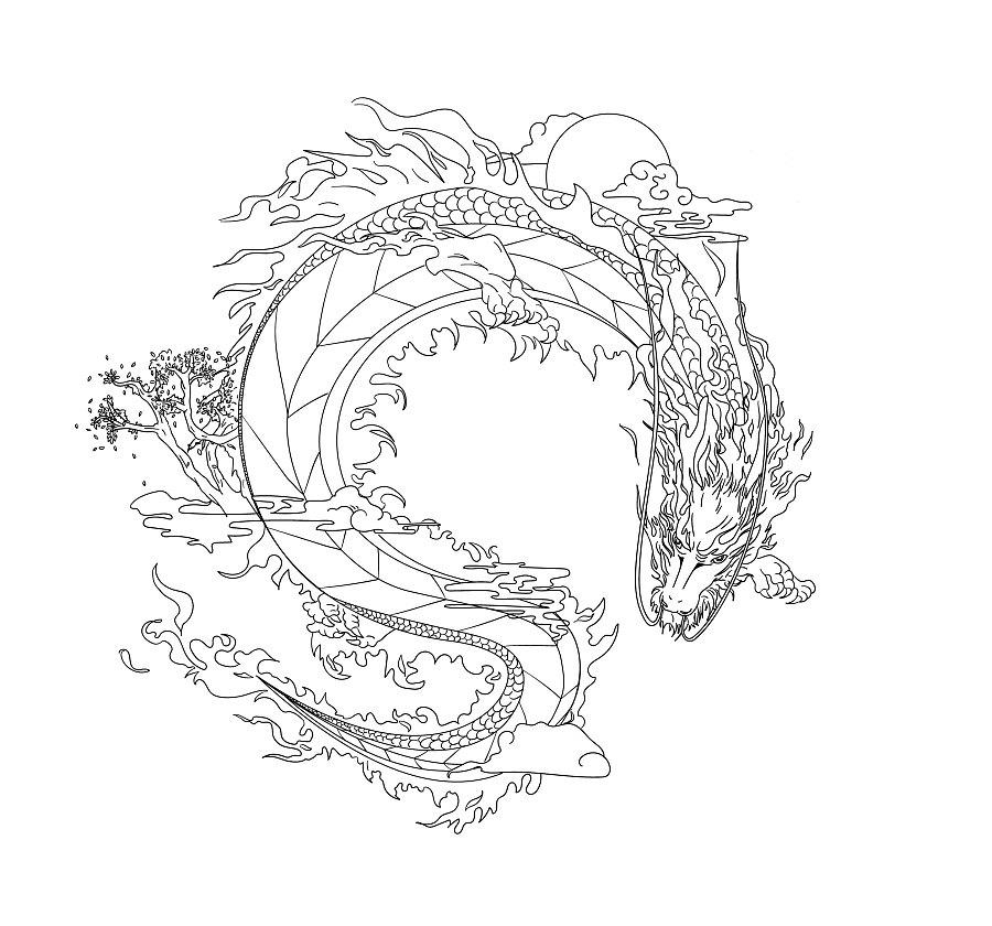 龙(服装品牌刺绣图案)