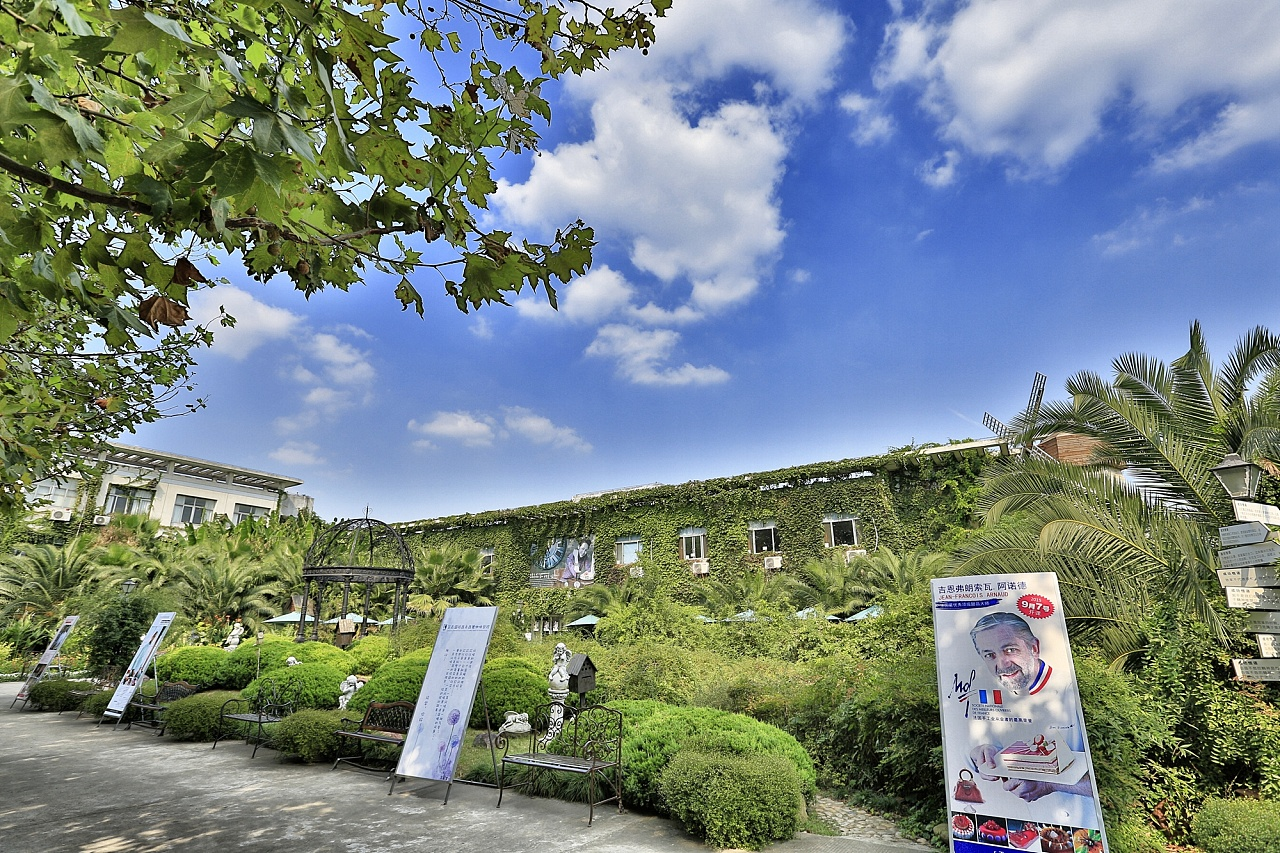 王森名厨苏州校区校园风景图片