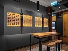 店铺空间摄影案例:眼镜店铺
