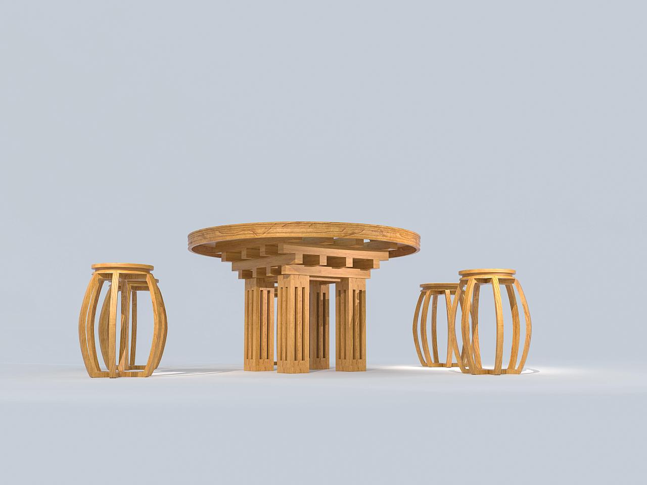 新中式家具设计 工业/产品 家具 vin_lew - 原创作品