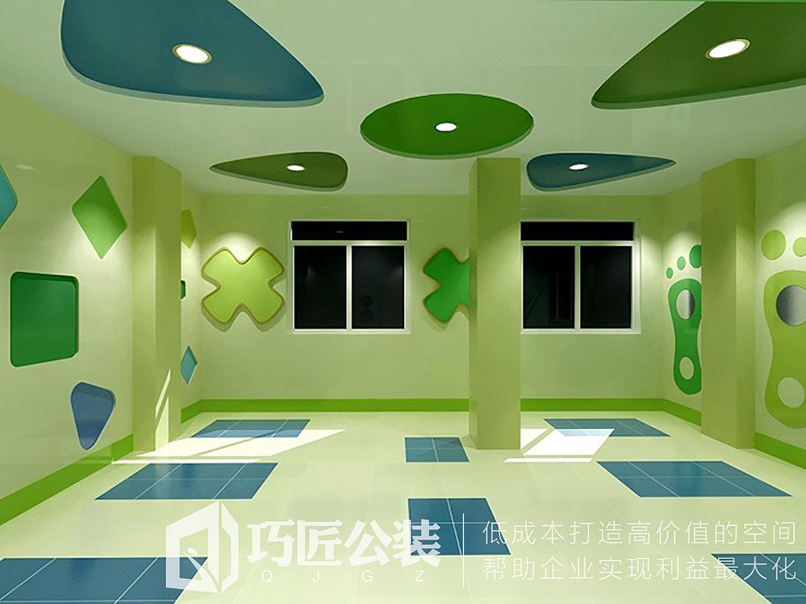 昆明幼儿园装修公司 云南幼儿园/培训教育机构/培训中心装修设计效果