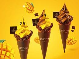 GODIVA x 食摄集美食摄影 #雪糕摄影#