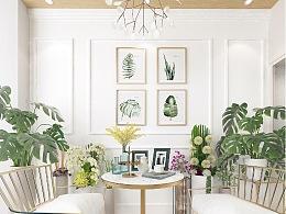 她和花.南海意库店平面图 | 室内设计