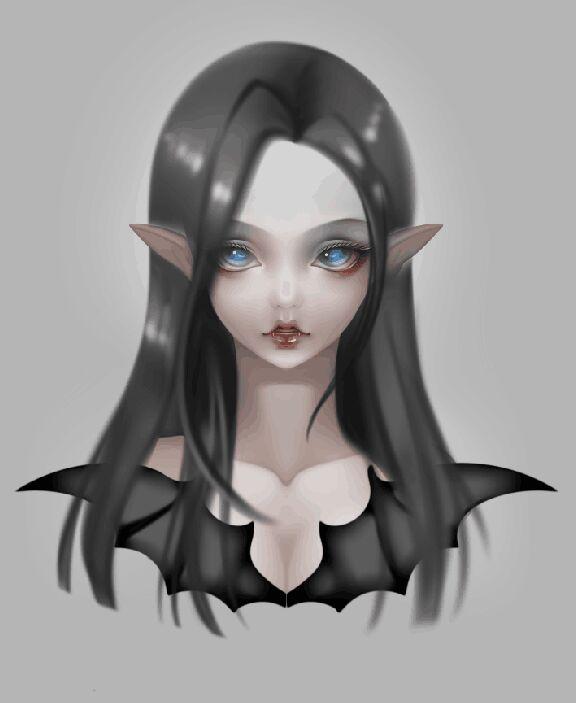查看《吸血鬼 LISA 三分BJD娃娃 头雕&胸台 3D建模,3D打印原型制作》原图,原图尺寸:576x703