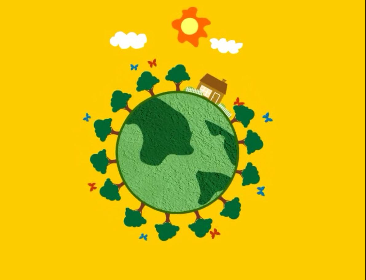 环保公益广告-保护地球图片