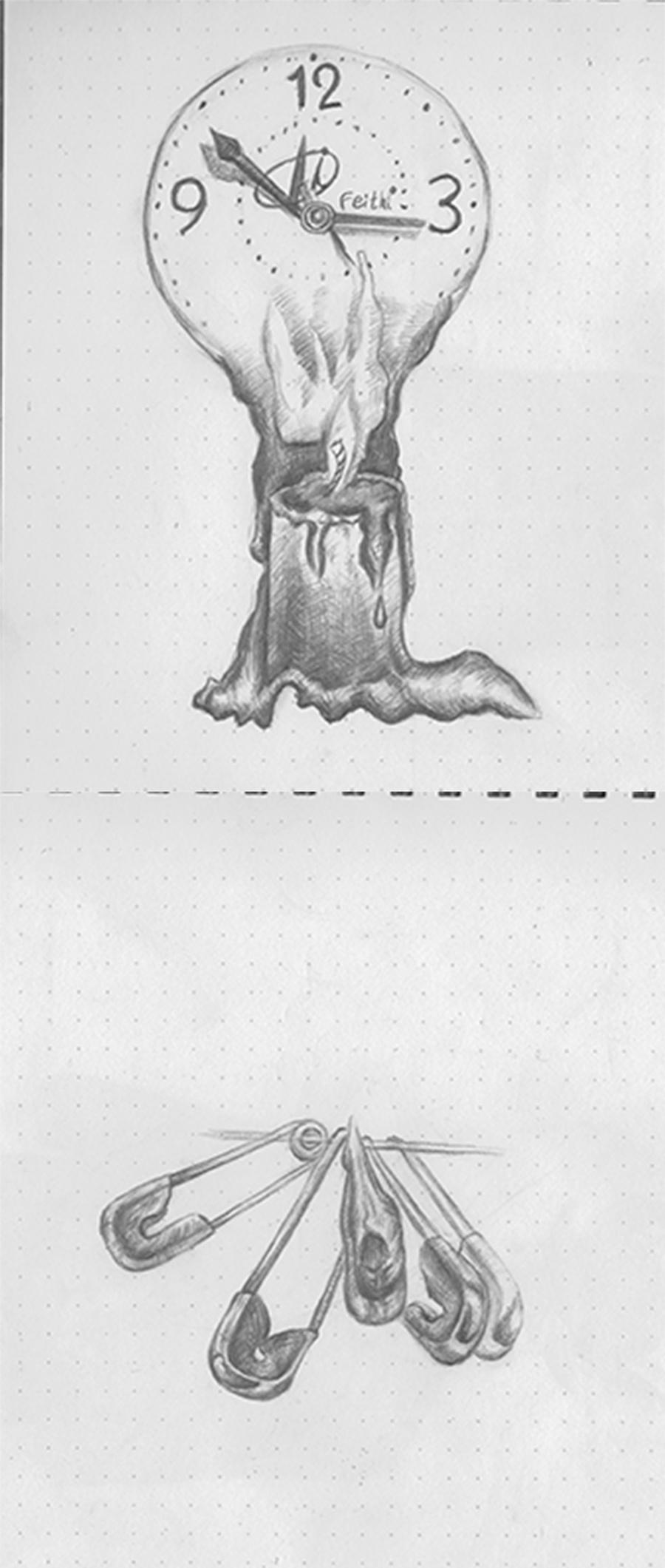 原创作品:手绘素描图片