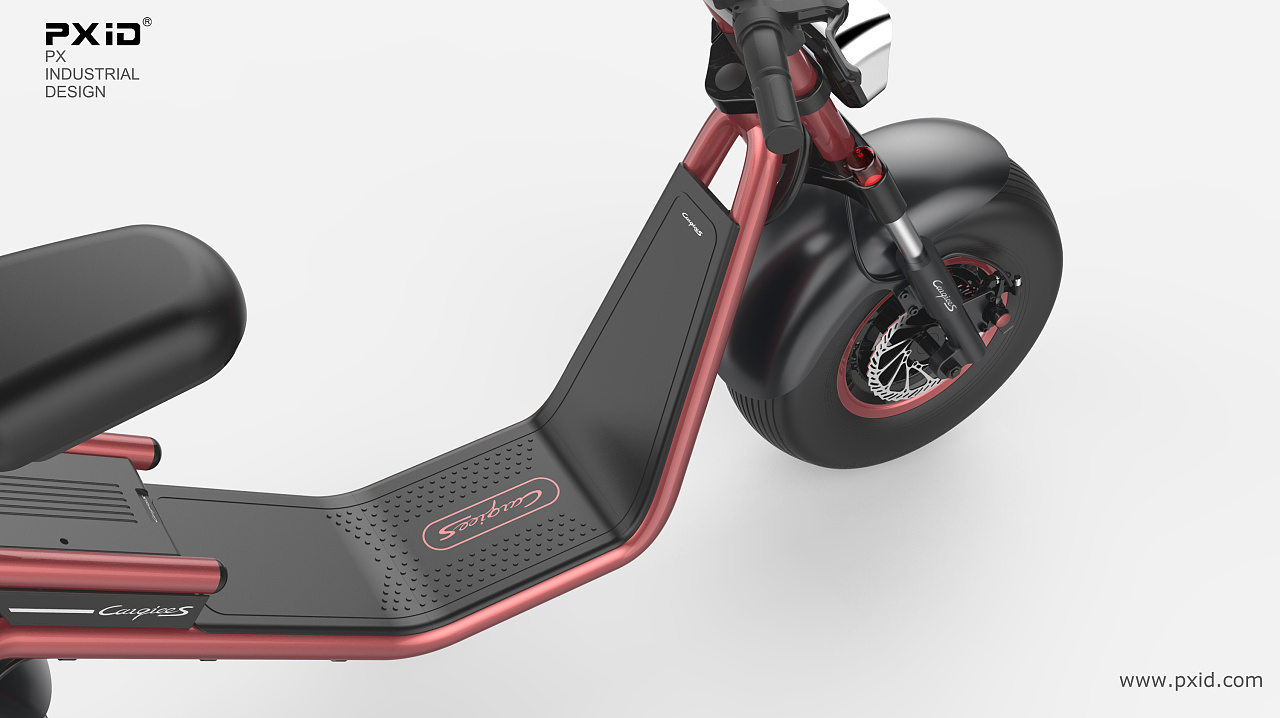 PXID 品向工业设计 哈雷电动车设计