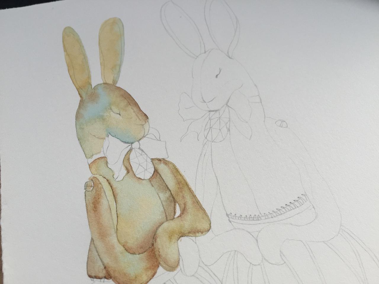 兔子先生手绘_兔子先生