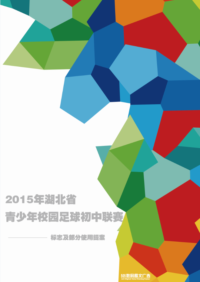 2015湖北省青少年足球联赛初中组 logo设计及全部使用图片