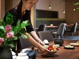 茶室建筑拍摄-上海缤谷广场某茶室