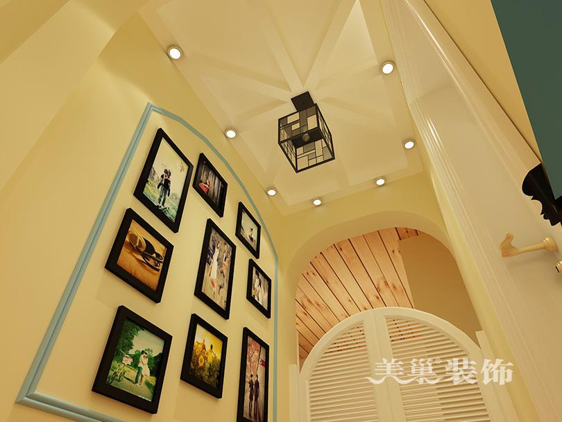 105平地中海边框复古案例设计|室内设计|装修风格设计图片