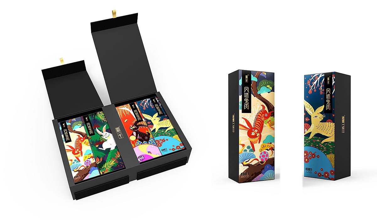 特产包装设计 插画包装设计 圣智扬创意设计图片